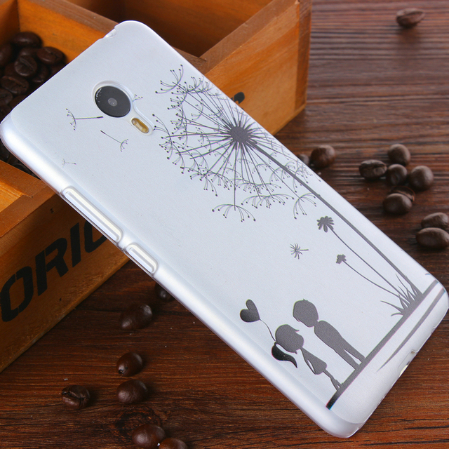 super popular ffc43 cb86f US $1.98 |$ Hot Plastic Case for Meizu Note 3 Back Cover For Meizu M3 Note  case meilan note 3 Lovers Dandelion Cartoon Pattern Phone Cases on ...