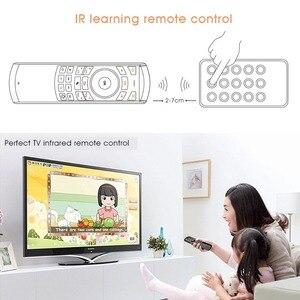 Image 5 - Original Rii i25 2,4 GHz Hebräisch Tastatur Luft Maus Fernbedienung IR Extender Lernen für HTPC Smart Android Google TV box IPTV