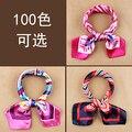 2015 женская рабочая одежда шелковый шарф высокое качество печать квадратных шарф сатинировки 60 * 60 см дамы офис шарф 100 цветов