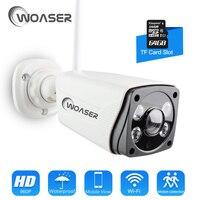 WOASER HD 1 3MP FishEye IP Camera 360 Degree Full View Outdoor Waterproof 1280X960 Network Home