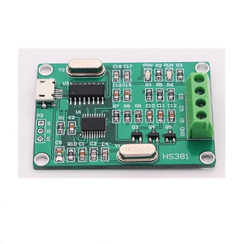 5Pcs USB three-phase sinusoidal signal generator Phase adjustable 0 to 360 degrees Frequency 0.1 to 2000 Hz