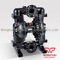 3 Inch Pneumatic Double Diaphragm Pump Big Flow Rate Air Operated Diaphragm Pump
