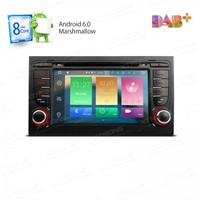 Android 6.0 Rádio Do Carro Oito 8 Octa Núcleo 32G ROM 2G RAM GPS Navegar para Audi A4 S4 RS4 SEAT Exeo 4G 4 K OBD2 TPMS RDS DAB + Stereo