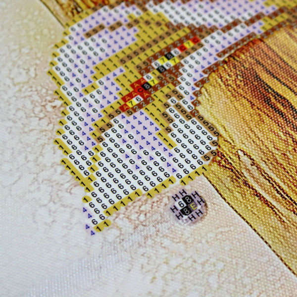 5d Diy Diamond Painting Cross Stitch Golden Lily Diamond Embroidery Flowers Crystal Round Diamond Mosaic Pictures Needlework