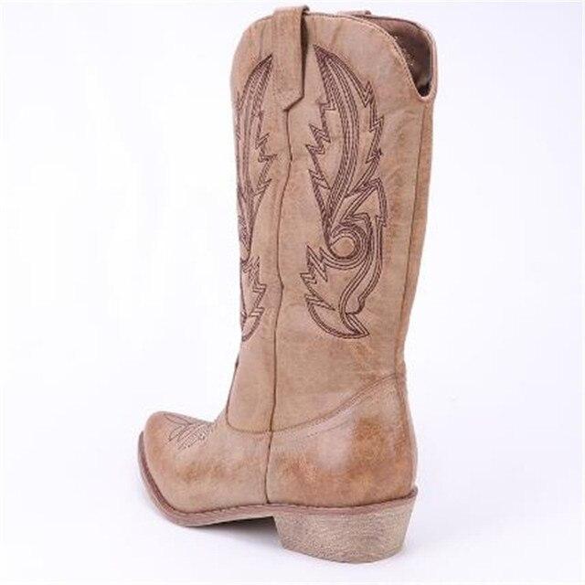 square toe cowboy boots 4
