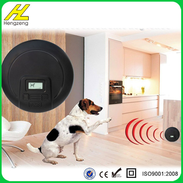 Waterproof And Rechargeable Wireless Dog Fence Electric Shock Collar Electronic Indoor Fencing System