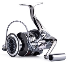 Nunatak New Arrival Winter fishing reel DE2000 3000 4000 5000 6000 7000 Spinning Reels full metal12+1 Ball Bearings Fishing Gear