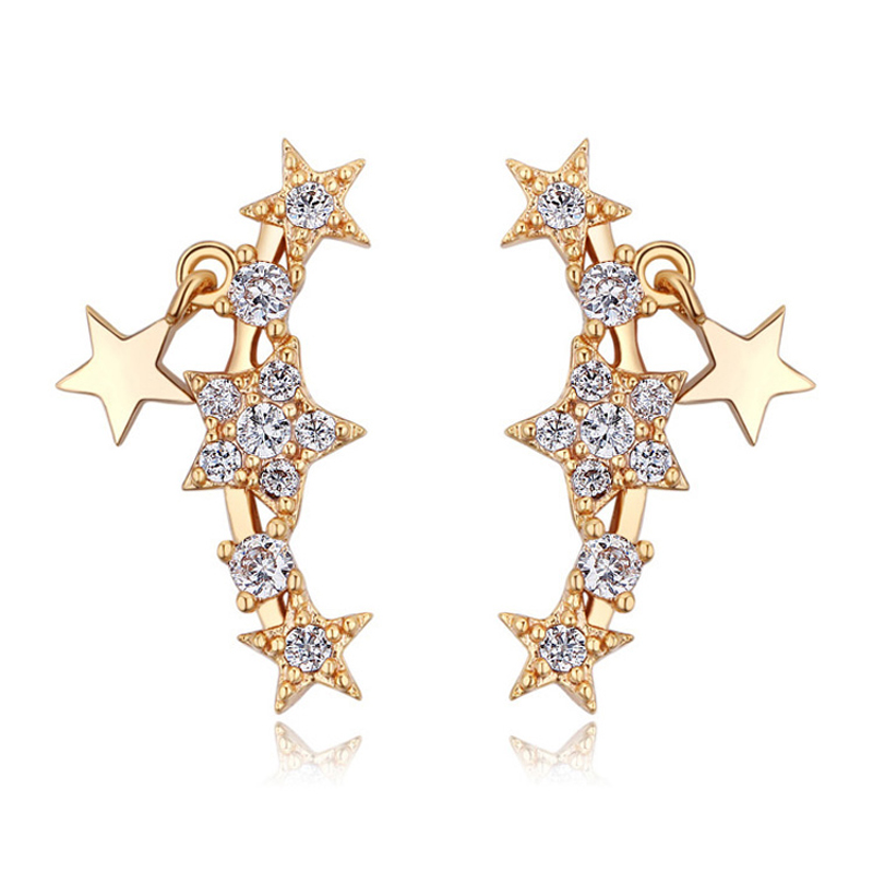 baffin new fashion earring cuffs for pierced ears for women