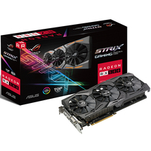 ASUS STRIX RX580 T8G GAMING Raptor high frequency game graphics