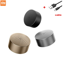 Original Xiaomi Bluetooth Metal Speaker Wireless Mini Stereo Portable Wireless Aux in Handsfree Mp3 Music Player Call for phone