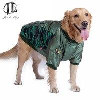 New Nhãn Hiệu Mùa Đông Ấm Áp Ngụy Trang Cotton Dày Không Thấm Nước Chó Con Vật Cưng Lớn Puppy Jacket Coat Thời Trang Quần Áo Trang Phục