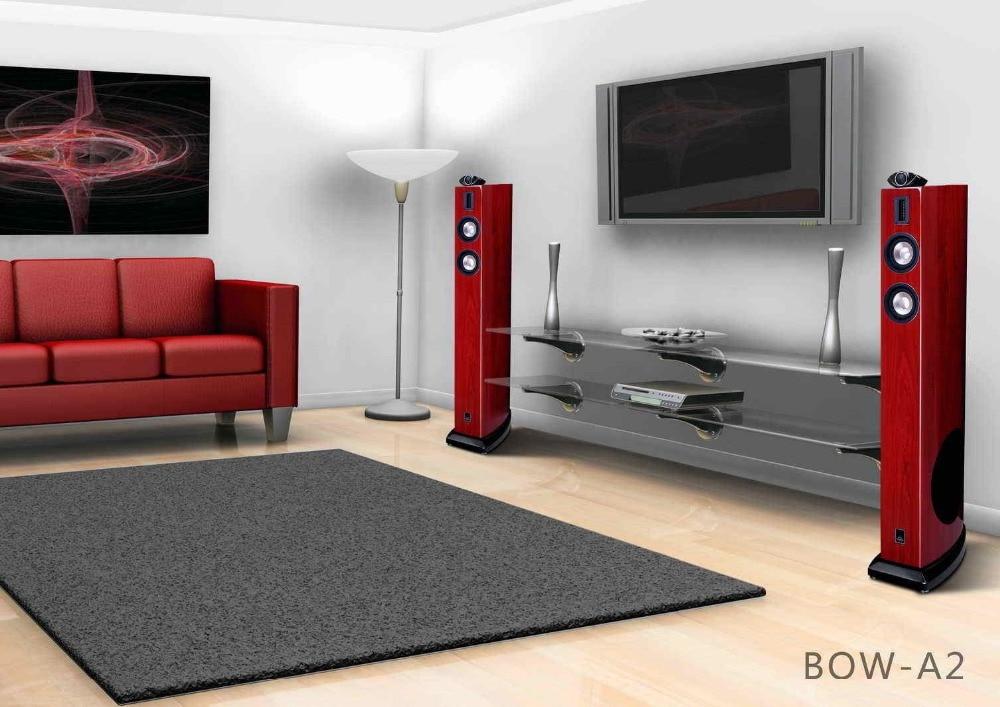 Mistral BOW-A2 180W x 2 Hifi Döşəmə Qülləsi Dinamiki - Portativ audio və video - Fotoqrafiya 6