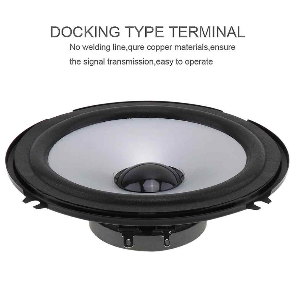 2 Pcs/6 Inch 130W 12V Mobil HI FI Coaxial Speaker Kendaraan Pintu Auto Audio Musik Stereo Berbagai frekuensi Loudspeaker untuk Mobil
