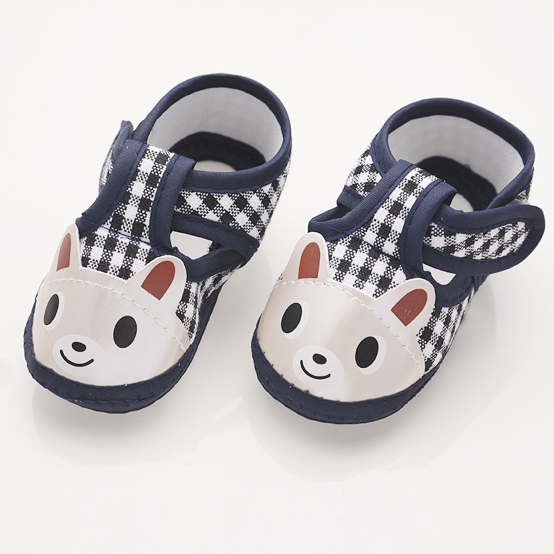 iEndyCn Baby Shoes Newborn baby shoes girls Soft Bottom Cotton Anti-skid Leisure Step Sh ...
