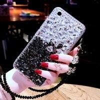 For Redmi Note 4X Bling Diamond Case Rhinestone Stone Jewelled Cover Case For Xiaomi Redmi Note