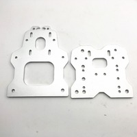 Funssor aluminum alloy OX CNC Gantry Plate Set Openbuilds OX CNC ROUTER KIT v slot 6mm thickness Fast Ship