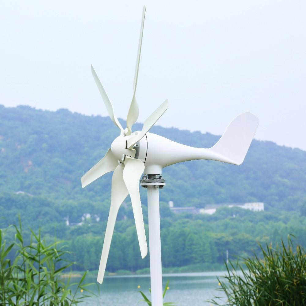 2019 petit générateur d'éolienne adapté pour les lumières à la maison ou le bateau, cadeau de contrôleur de vent de 600 W MPPT, tous les ensembles avec 10 ans de garantie - 3