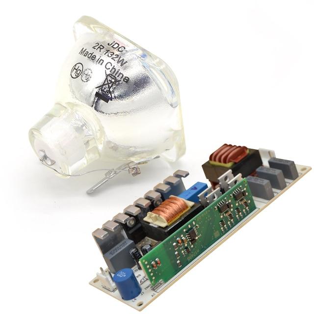 Lampa 2R lampa metalohalogenkowa ruchoma belka z zasilaniem 132W zapasowy akumulator balastowy