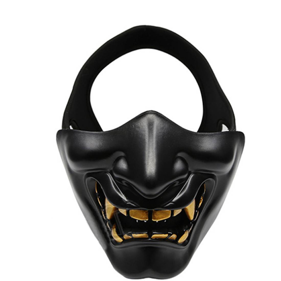 Airsoft Elastic Cool Half-face Tactical Mask Attractive Masquerade Party Face Cover Outdoor Shooting Paintball Protective Mask