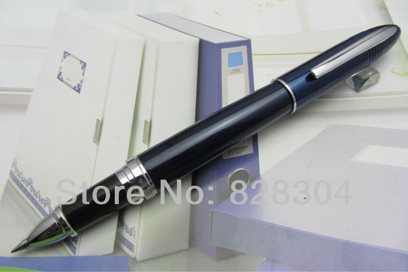 Duke shark high quality navy blue roller pen, free shipping heavy texture цена