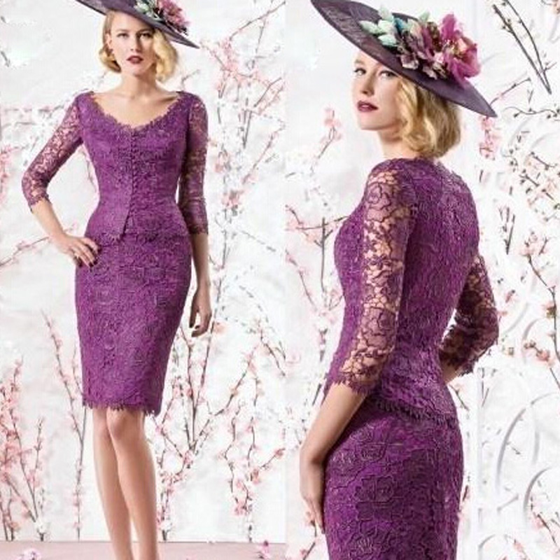 Famoso Vestidos De Dama De Encaje De Color Púrpura Ilustración ...