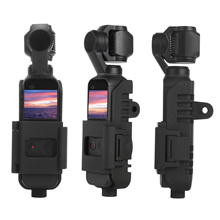 3 in 1 Tripod Mount Stand for DJI Osmo Pocket handheld camera Protective Frame,with a Backpack Clip, Bike Handlebar Mount