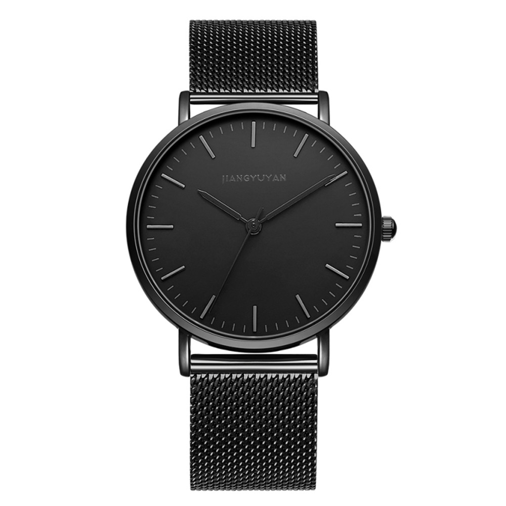Top Luxury Brand Quartz Watch Men Black Casual Japan Movt Stainless Steel Mesh Strap Ultra Thin Clock Male Relogio Masculino NewTop Luxury Brand Quartz Watch Men Black Casual Japan Movt Stainless Steel Mesh Strap Ultra Thin Clock Male Relogio Masculino New