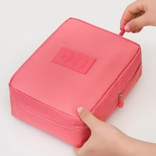 Waterproof cosmetic bag travel portable wash storage