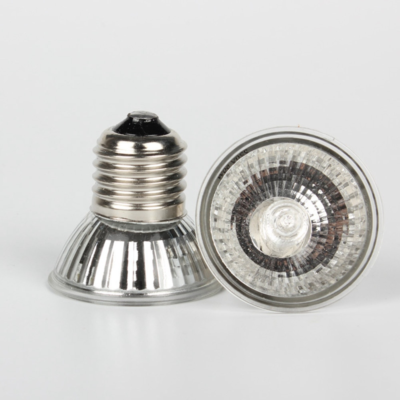 25/50W Reptile Lamp Bulb Turtle Basking UV Light Bulbs Heating Lamp Amphibians Lizards Temperature Controller