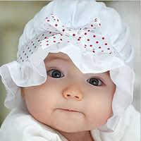 Del bambino del beanie del bambino del bambino del beanie del cappello fiocco del cappello del bambino di colore solido bambino berretti di seta cofano rosso coreano blu bambini 2018 primavera cofano bambino