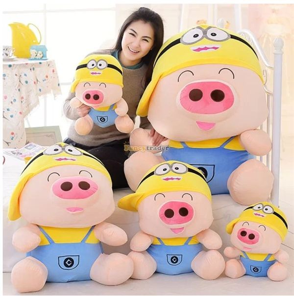 Fancytrader 37\'\' 95cm Super Lovely Soft PlusH Stuffed Giant McDull Pig, 3 Cartoon Models, Free Shipping FT50732 (6)