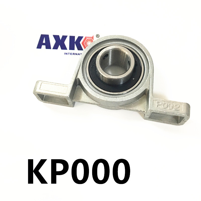 Free shipping 2pcs UP000 pillow block ball bearing 10mm Zinc Alloy Miniature Bearings with sleeve какой мобильник в районе 10 000 с 2 sim
