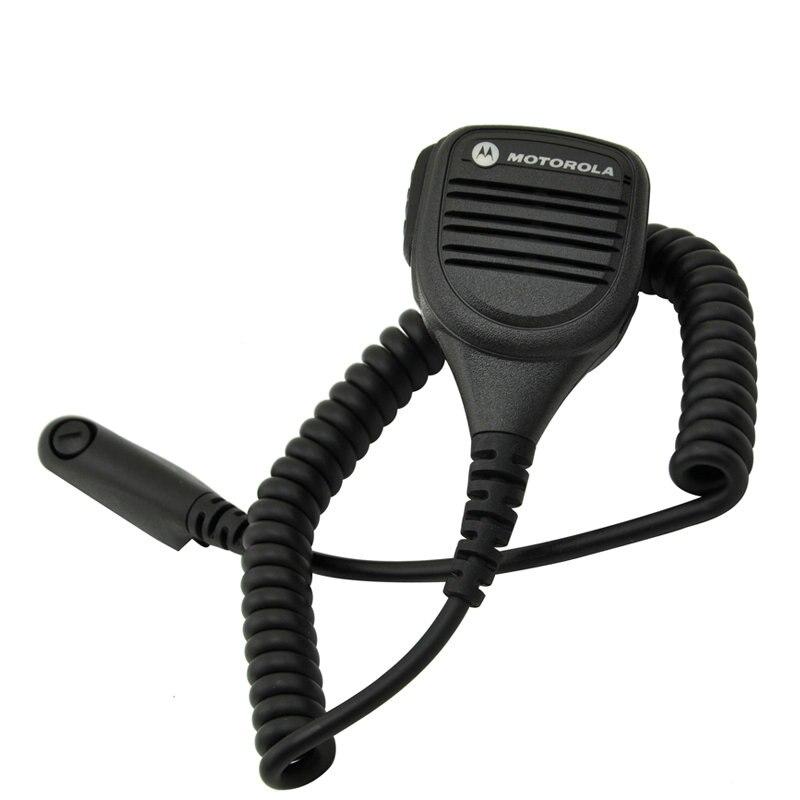 5PCS PMMN4013A Rainproof 2 Pin Shoulder Remote Speaker Mic rophone PTT For Motorola Radio GP338 GP328