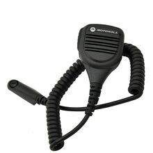 5 قطعة PMMN4013A غير نافذ للمطر 2 Pin الكتف عن بعد المتكلم Mic rophone PTT لموتورولا راديو GP338 GP328 PRO5150