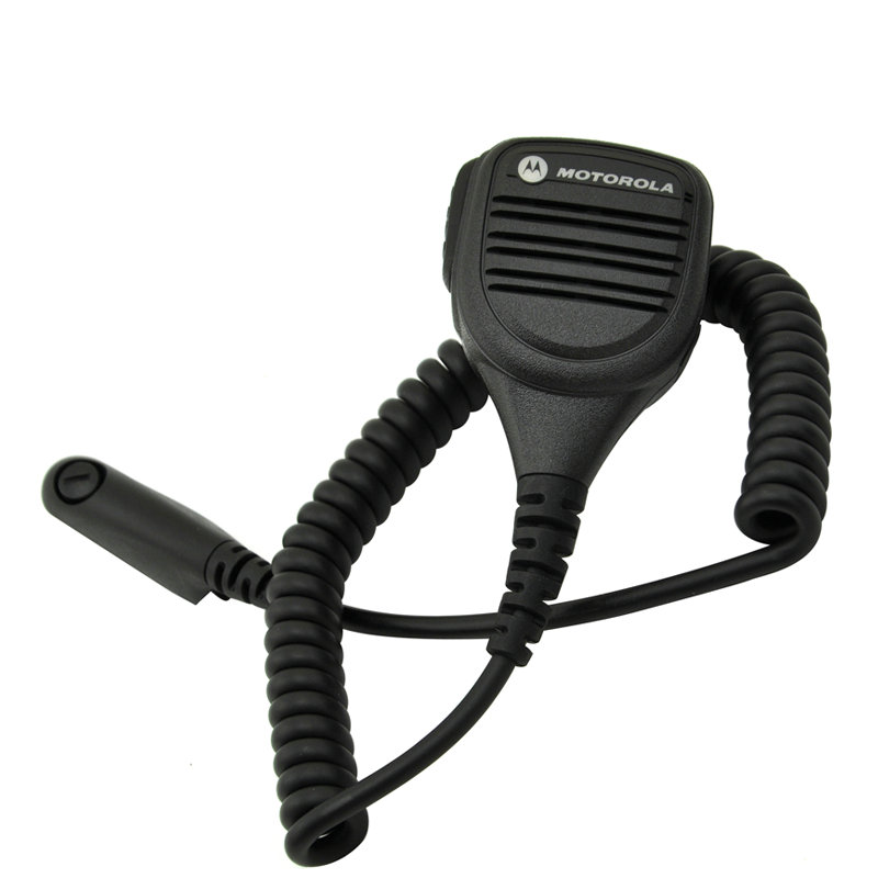 5PCS PMMN4013A Rainproof 2-Pin Shoulder Remote Speaker Mic-rophone PTT For Motorola Radio GP338 GP328 PRO5150