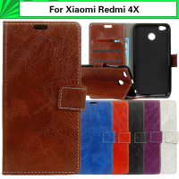 EiiMoo Capa Coque For Xiaomi Redmi 4X For Hongmi 4X 5 0 Case Wallet Flip Leather