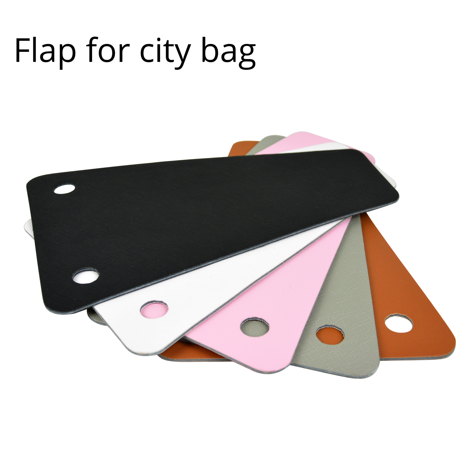 Faux Leather Replacement Flap With Matching Band Interlocking Top Accessory For O City Bag Obag Bag Accessories