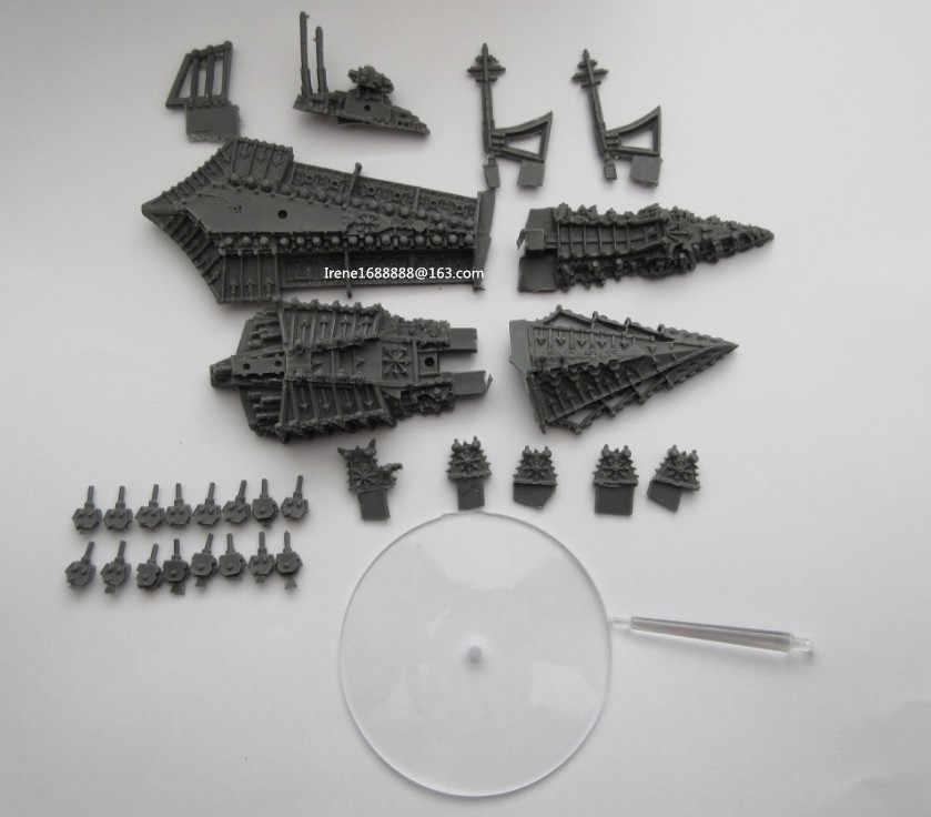 Классический Смолы Модели Battlefleet Gothic DESOLATOR КЛАССА ЛИНКОР Бесплатная Доставка