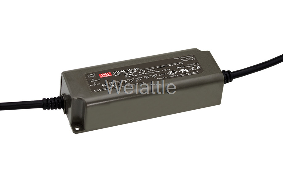цена на [Cheneng]MEAN WELL original PWM-60-24 24V 2.5A meanwell PWM-60 24V 60W Single Output LED Power Supply