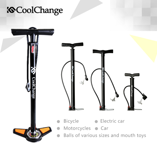 2017 Coolchange  High Pressure  Pump Bicycle Pump Electric cars Air Pump Cars Air Pump Free Shipping