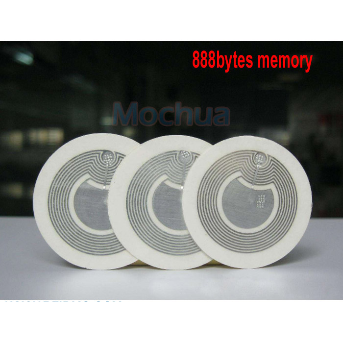 Ntag216 Stickers NTAG216 Lable NFC Tag 888 Bytes 25mm Diameter For All NFC Phones