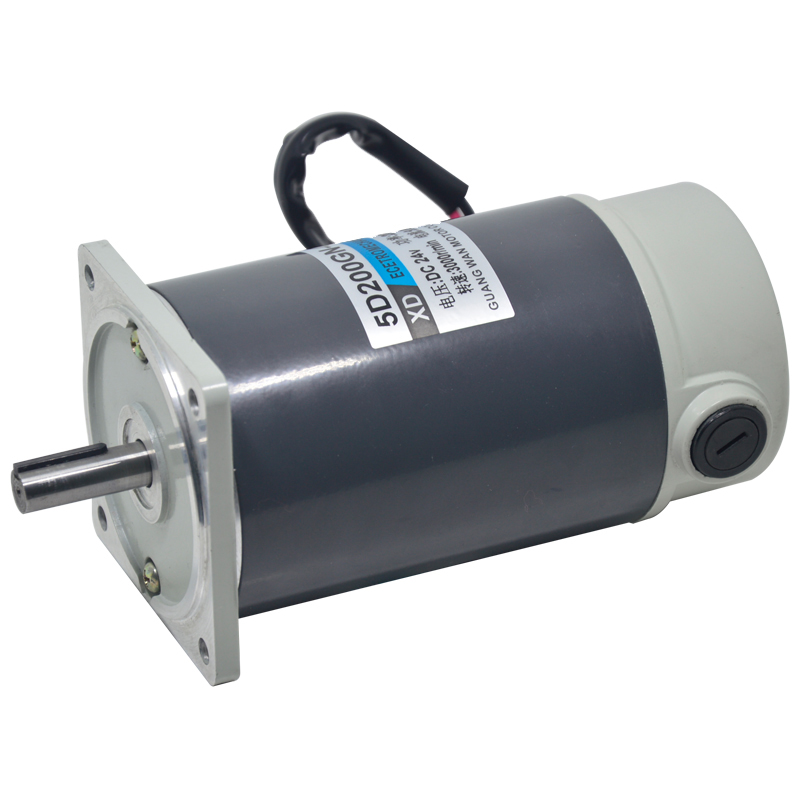 <font><b>DC</b></font> <font><b>motor</b></font>, 12v24v high speed <font><b>motor</b></font>,5D200GN-CC <font><b>200W</b></font> high torque <font><b>motor</b></font>, 3000RPM electric <font><b>motor</b></font>,CW/CCW image
