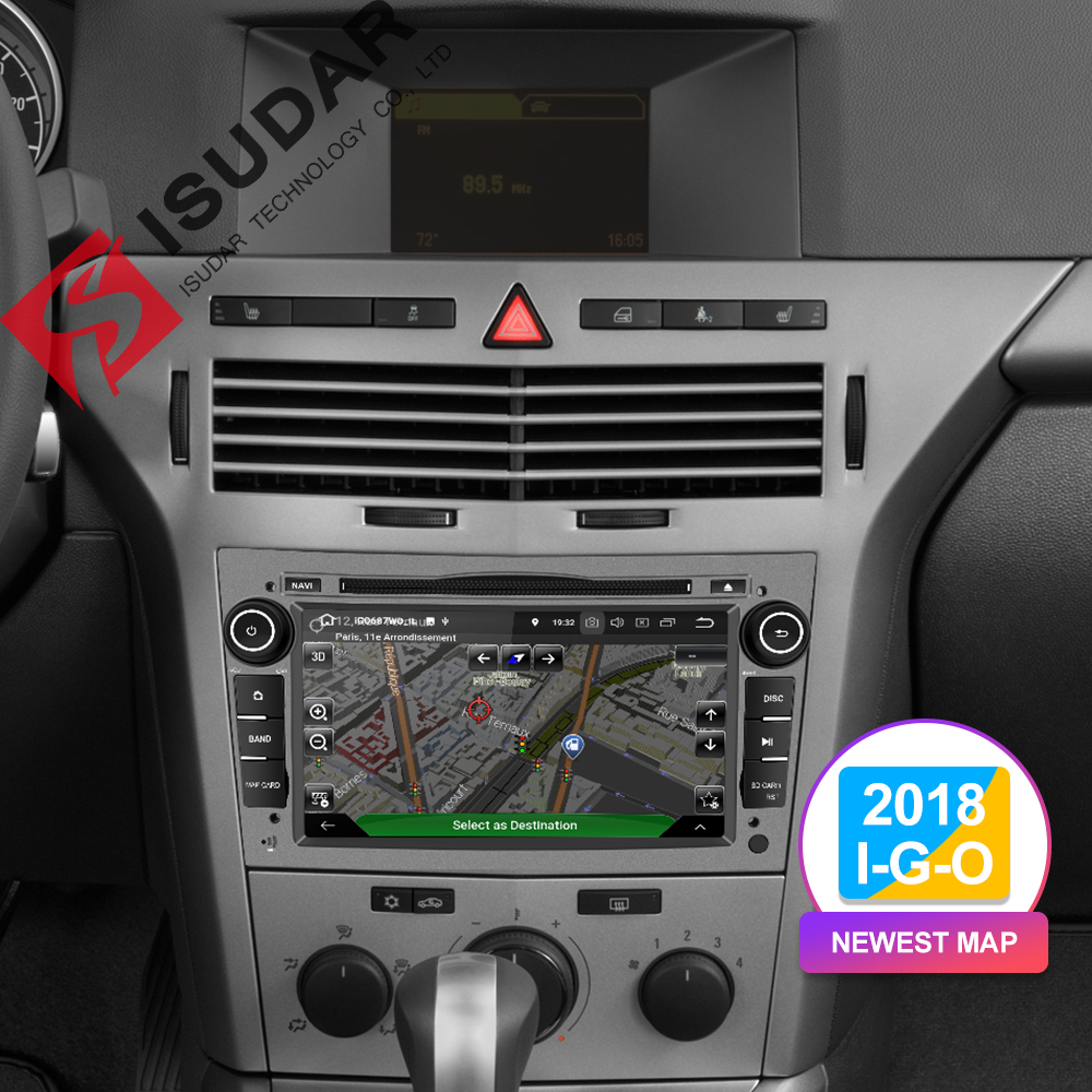 Image 5 - Isudar Car Multimedia Player GPS Android 9 2 Din DVD Automotivo For OPEL/ASTRA/Zafira/Combo/Corsa/Antara/Vivaro Radio FM DSP DVR-in Car Multimedia Player from Automobiles & Motorcycles
