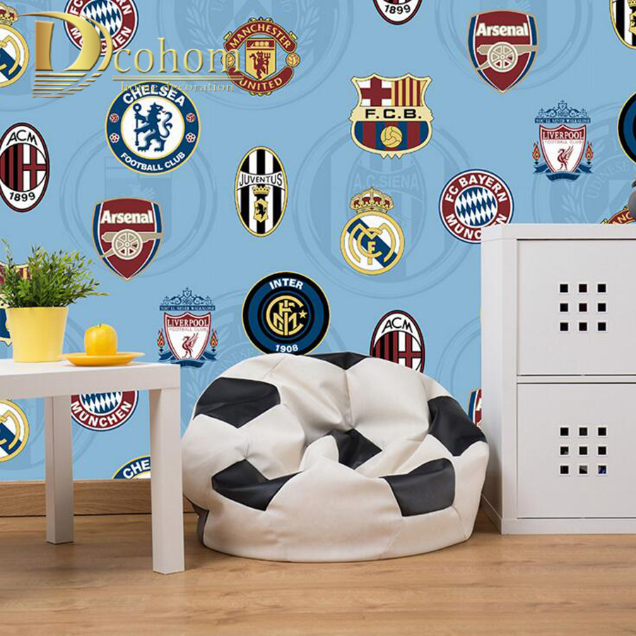 Manchester United Bedroom Wallpaper Online Buy Wholesale Football Wallpaper From China Football