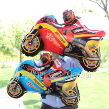 Motorcycle spiderman party Balloons