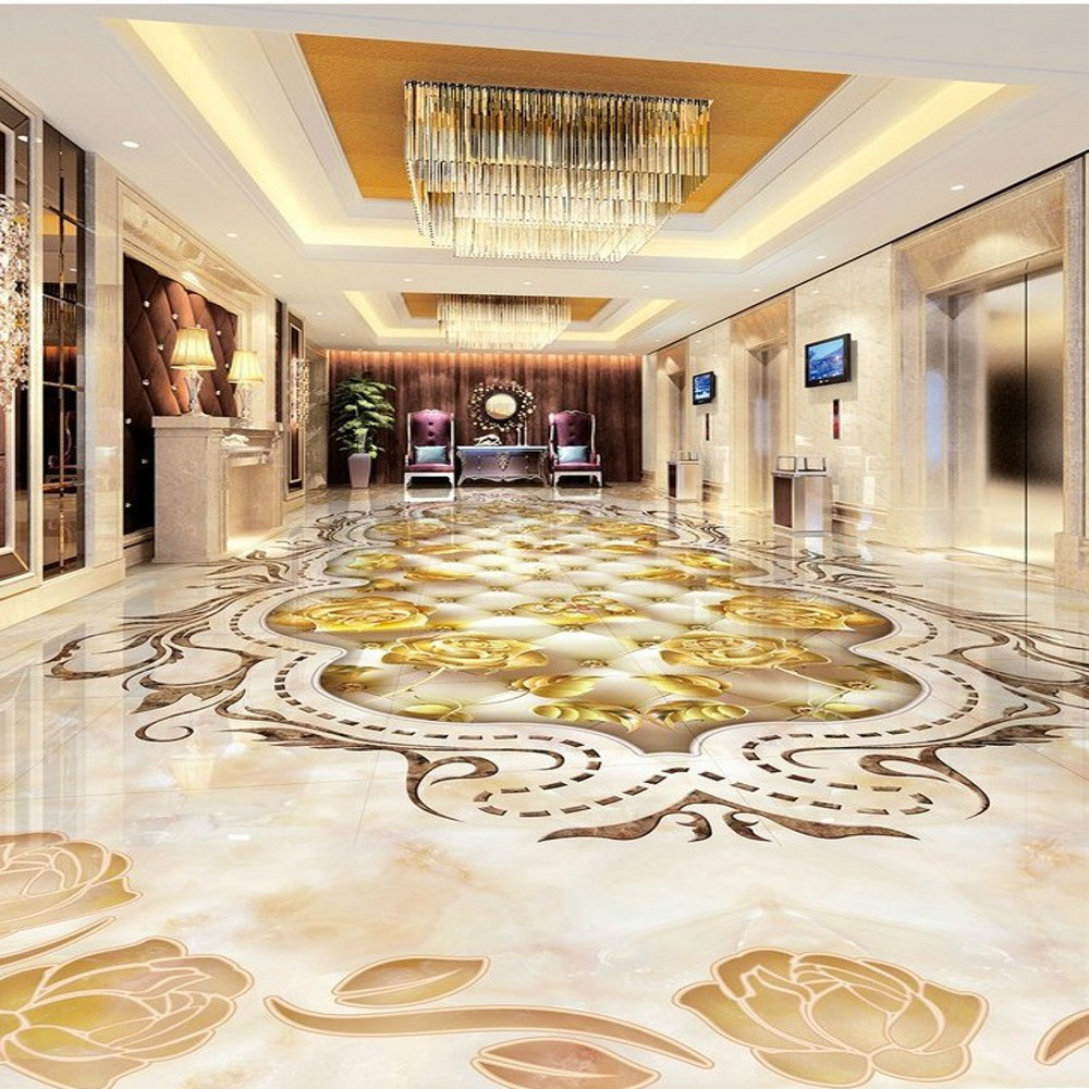 Free Shipping stereo 3D marble stripe parquet floor wallpaper custom guest room self-adhesive floor mural free shipping marble texture parquet reliefs 3d floor painting lifelike thickened wallpaper self adhesive bathroom mural
