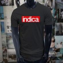 d081448d9 2019 Homens Da Moda Camisetas Fumante Fumar Maconha Engraçado Venda Quente  de Rua Roupas de Marca Camisa dos homens T Preto