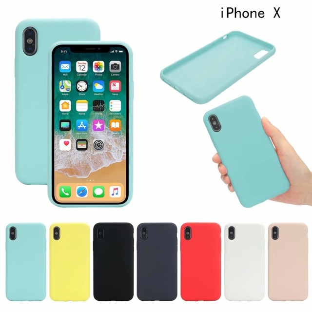 buy online 4f0b2 f1fe7 US $8.99 |Original Silicone Case for iPhone Xs Max Back Cover Case for  iPhone X XS With Retail Box Phone Bag for iPhone XR Ultra thin Case-in  Fitted ...