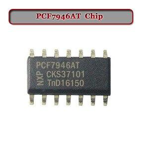Original (1 peça) pcf7946at transponder chip para chave renault chip transponder chip 46 chip keys -