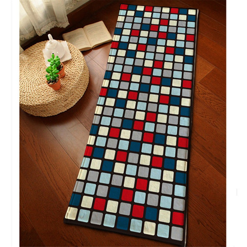 Flannel Square Bath Mat For Bathroom Rug Carpet In The Bathroom And Toilet  Anti Slipping Water Absorbing Comfortable Area Rug In Bath Mats From Home  ...